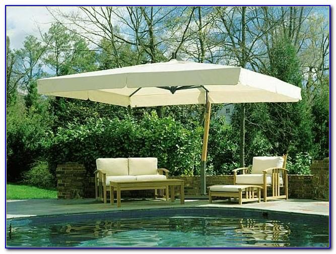 Big Umbrella Patio Table