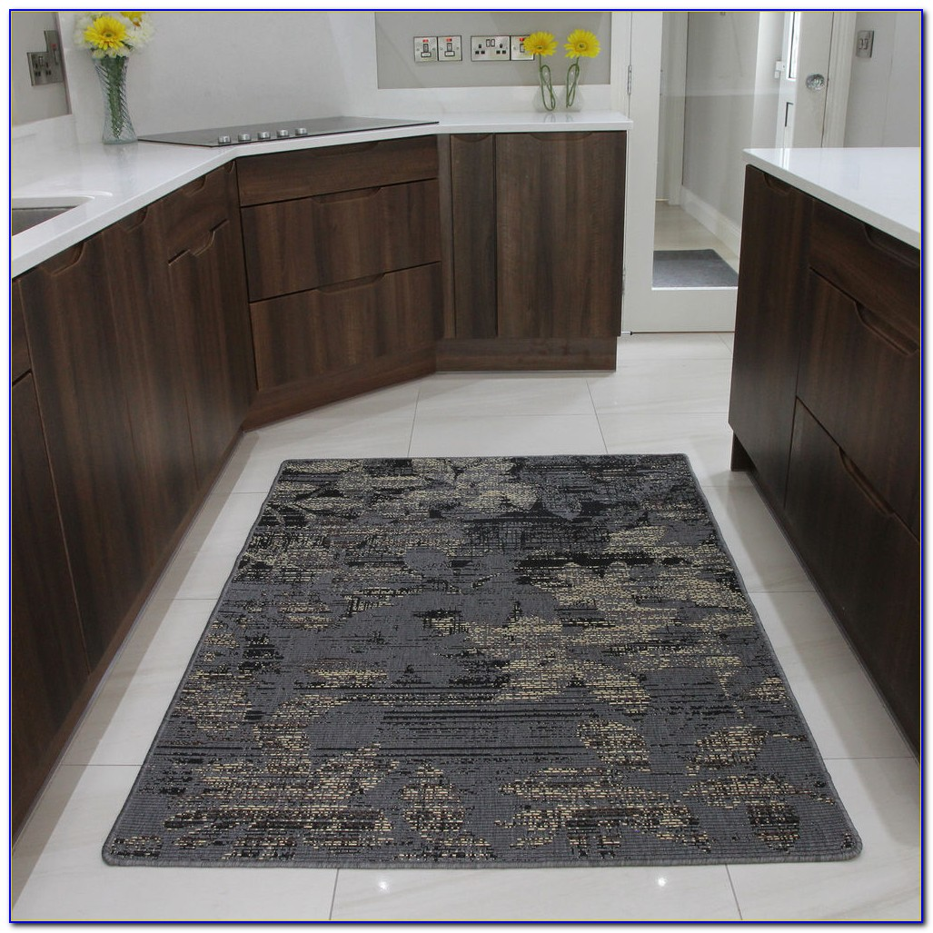 Black Rubber Backed Area Rugs