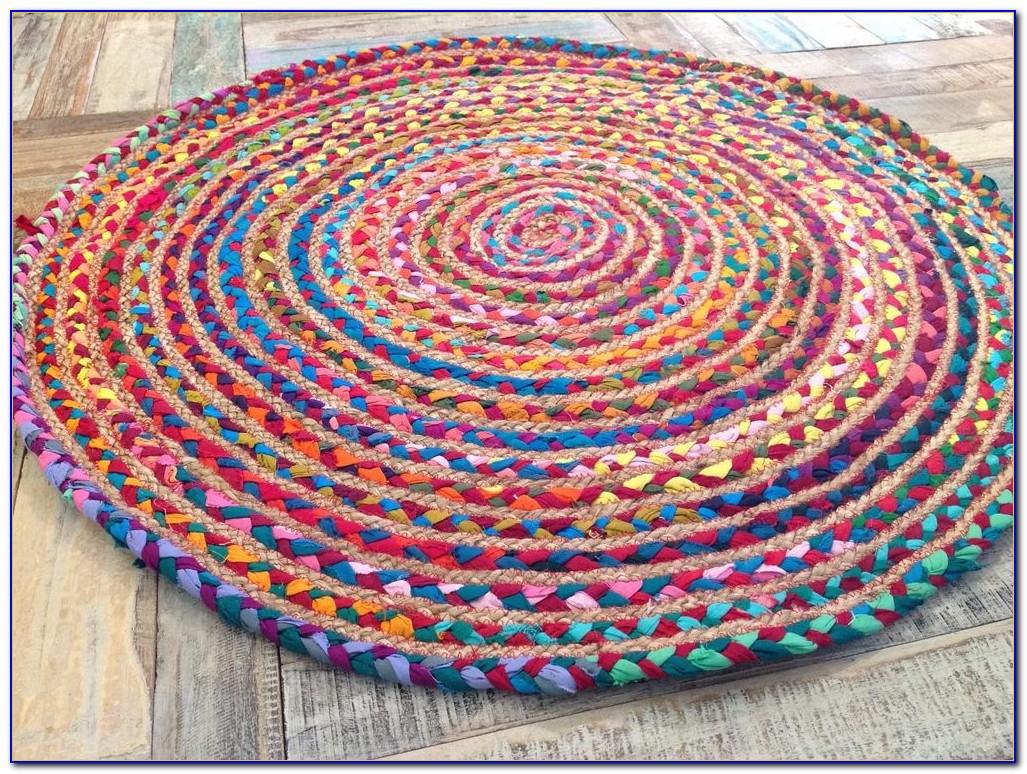 Braided Rag Rug How To Make