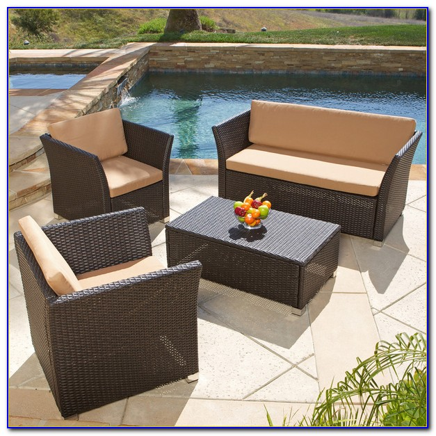 Brown Jordan Wicker Patio Furniture