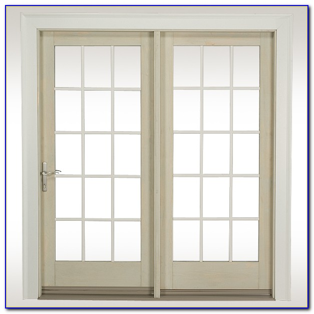 Center Hinged French Patio Doors