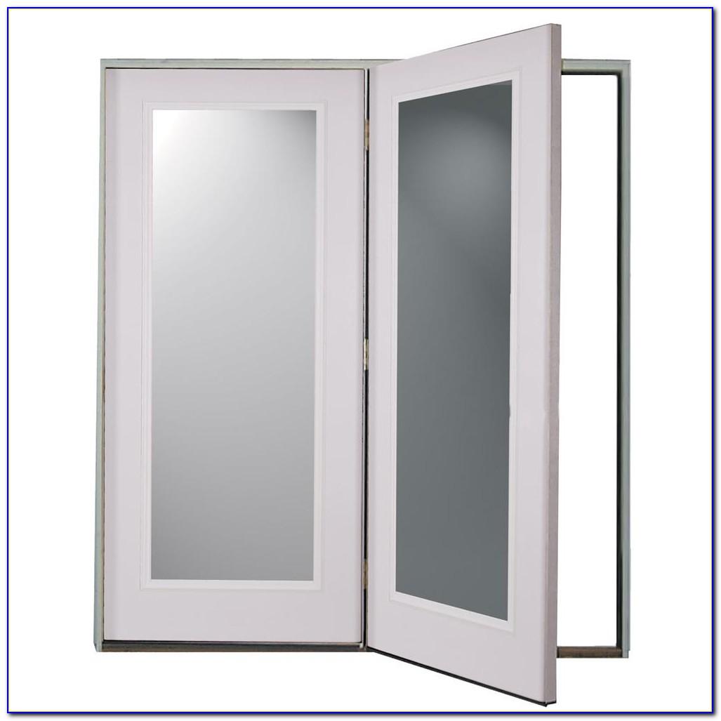 Center Hinged Patio Doors
