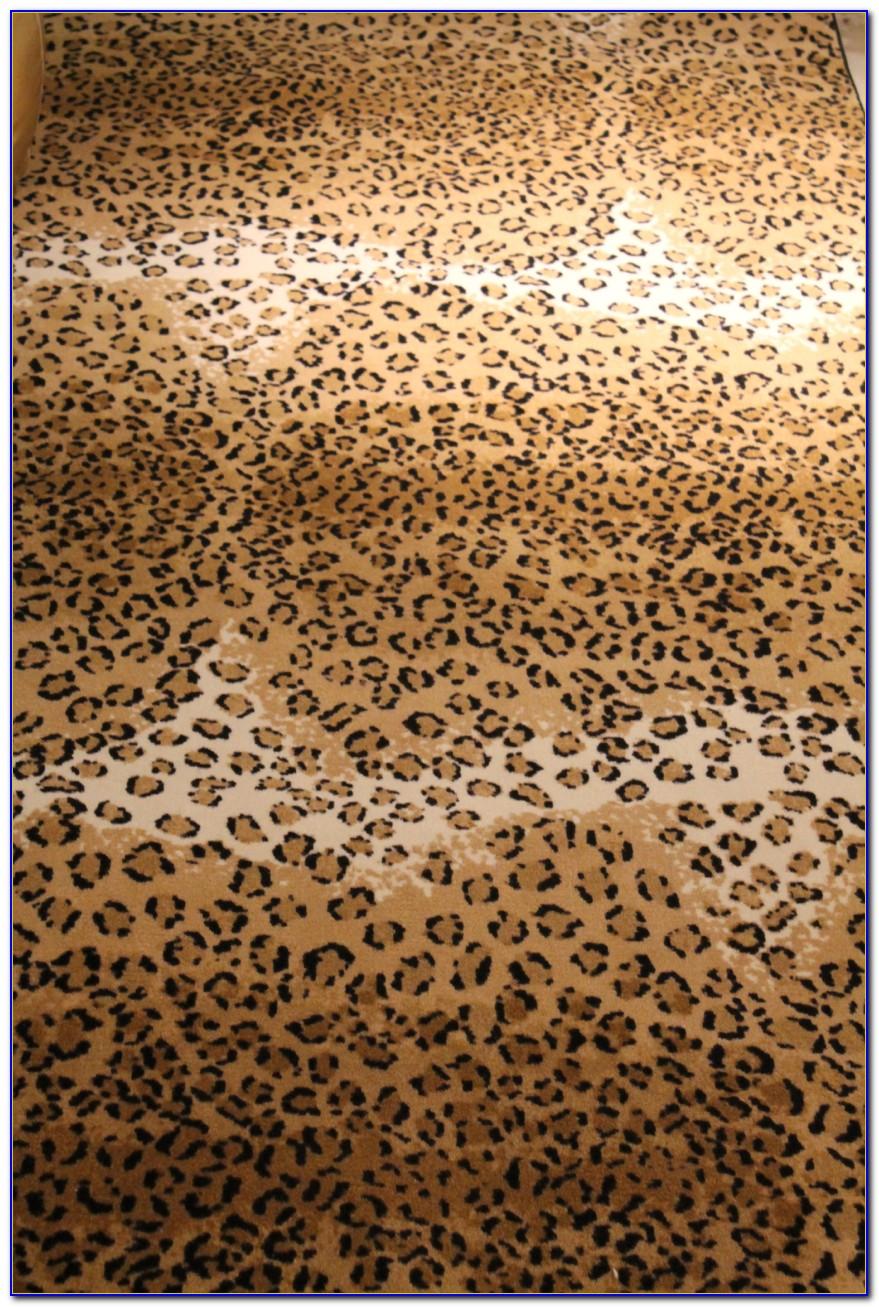Cheetah Print Bathroom Rugs