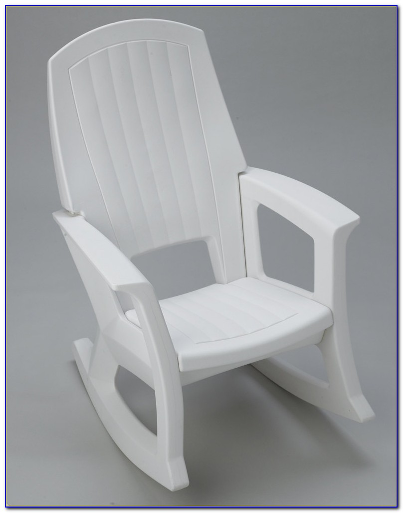 Cleaning White Plastic Patio Chairs