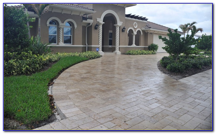Concrete Patio Paver Sealer