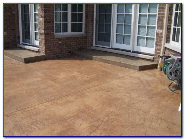 Concrete Patio Sealer Drying Time