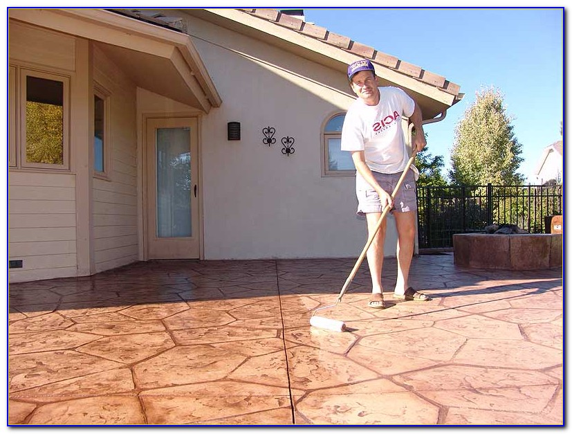 Concrete Patio Sealer Sherwin Williams