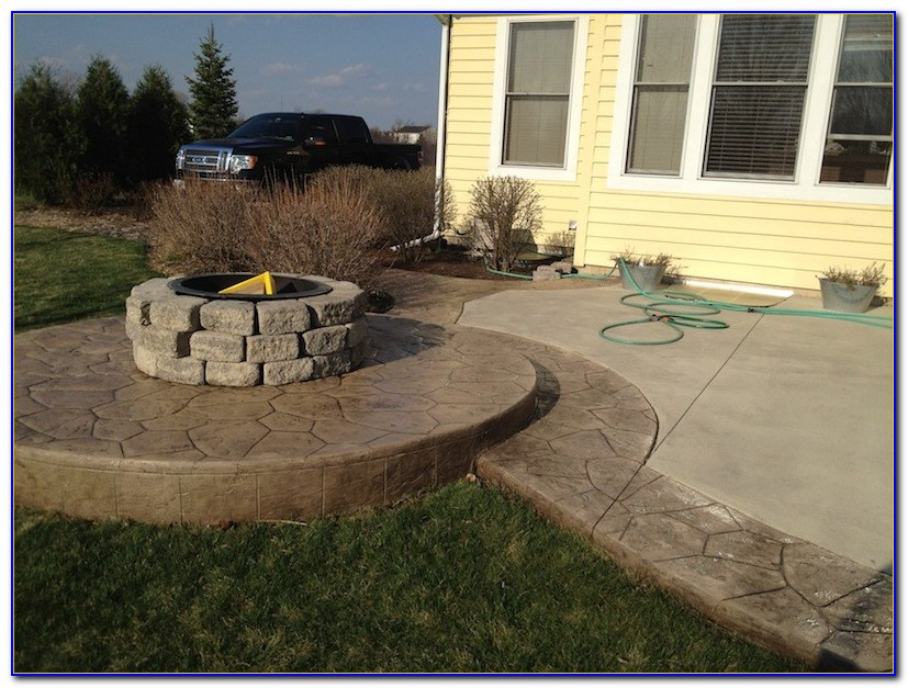 Concrete Patio Sealer Wet Look