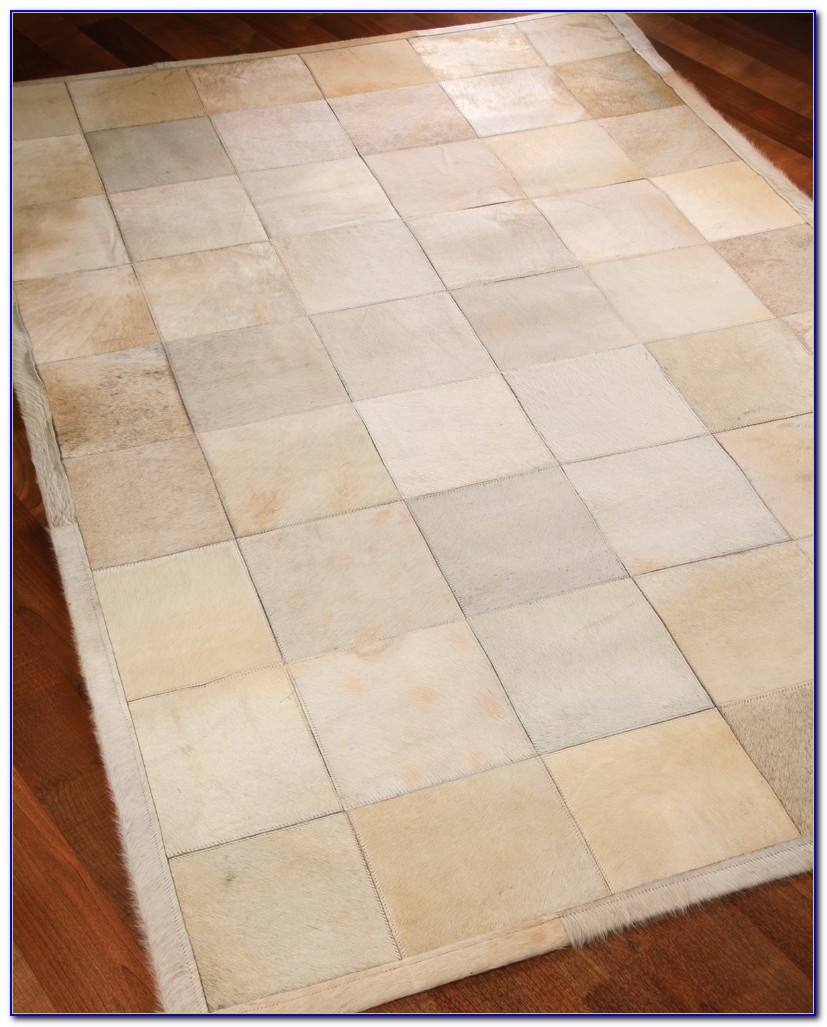 Cowhide Patchwork Rug Singapore
