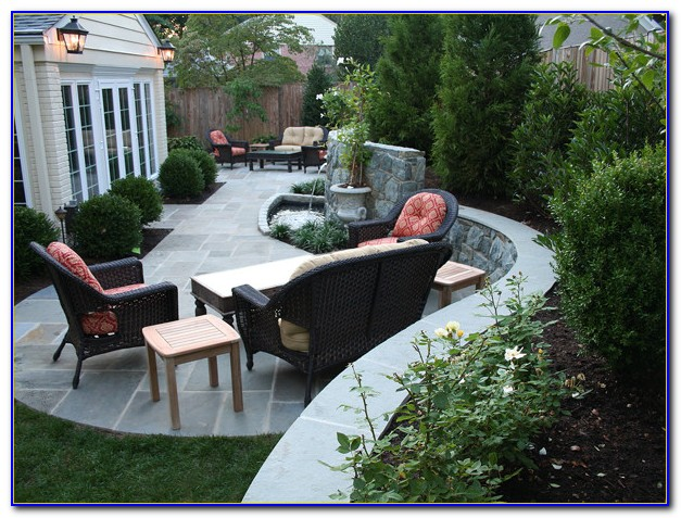 Curved Patio Benches