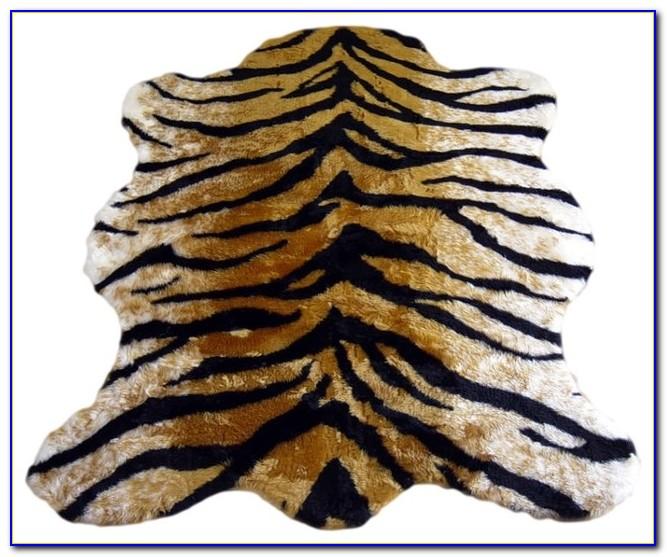 Diy Faux Animal Skin Rug