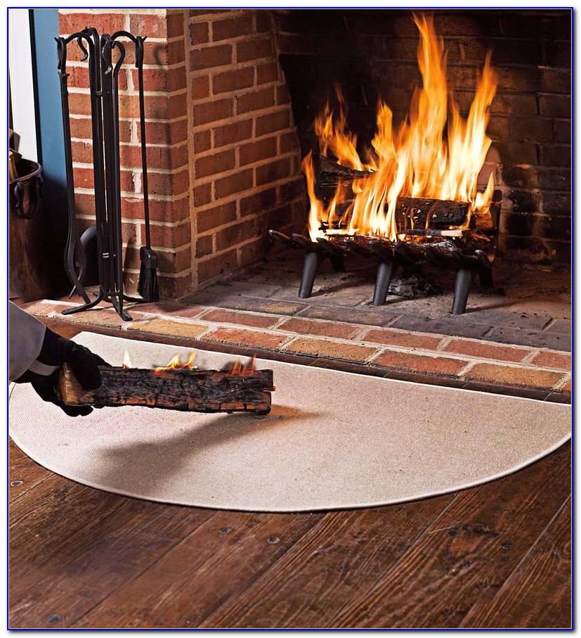 Fiberglass Hearth Rugs Fire Resistant