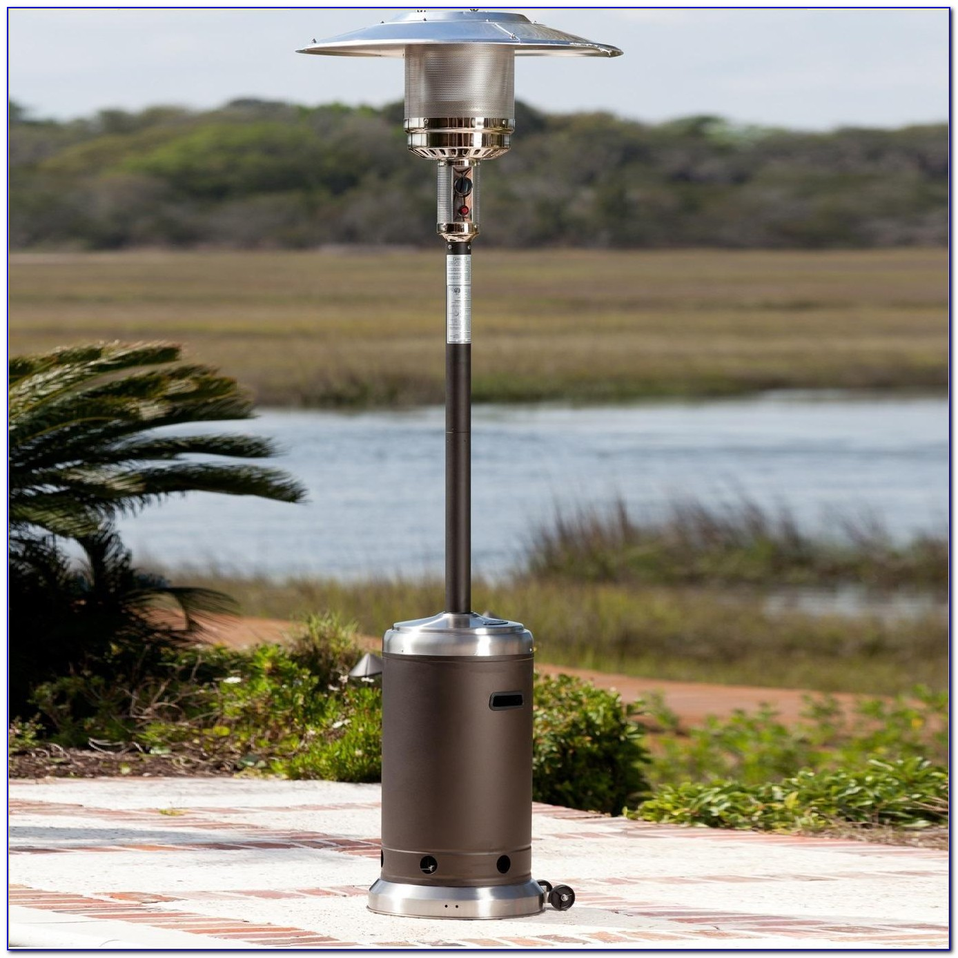 Fire Sense Commercial Patio Heater Stainless Steel