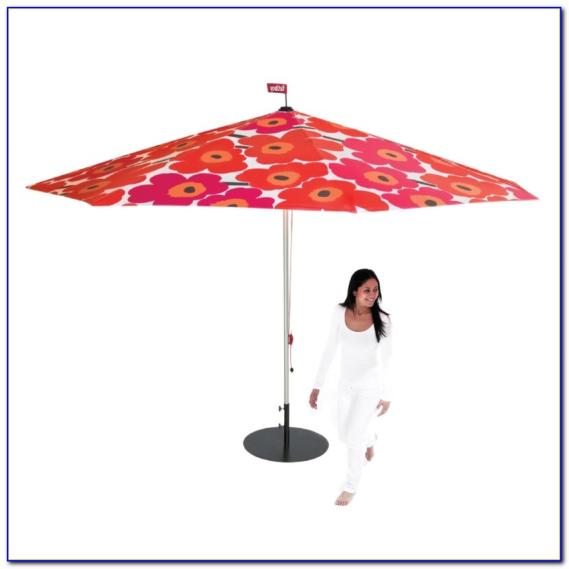 Floral Design Patio Umbrellas