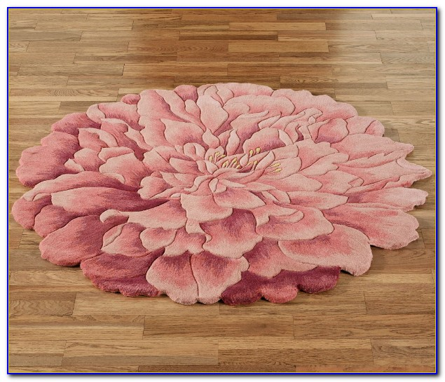 Flower Shaped Rugs Uk