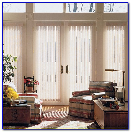 French Patio Door Window Treatment Ideas