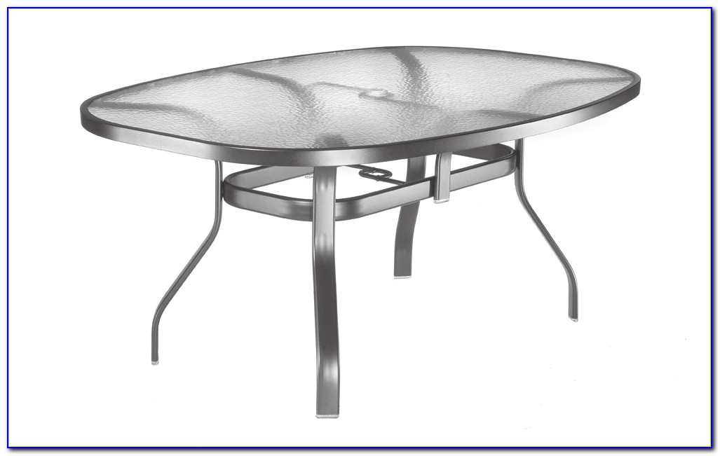 Glass Top Porch Tables