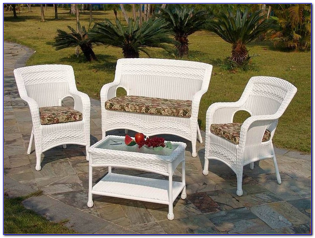 Hampton Bay Outdoor Wicker Chairs