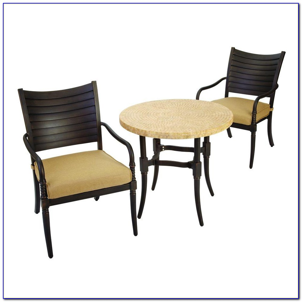 Hampton Bay White Wicker Patio Chairs
