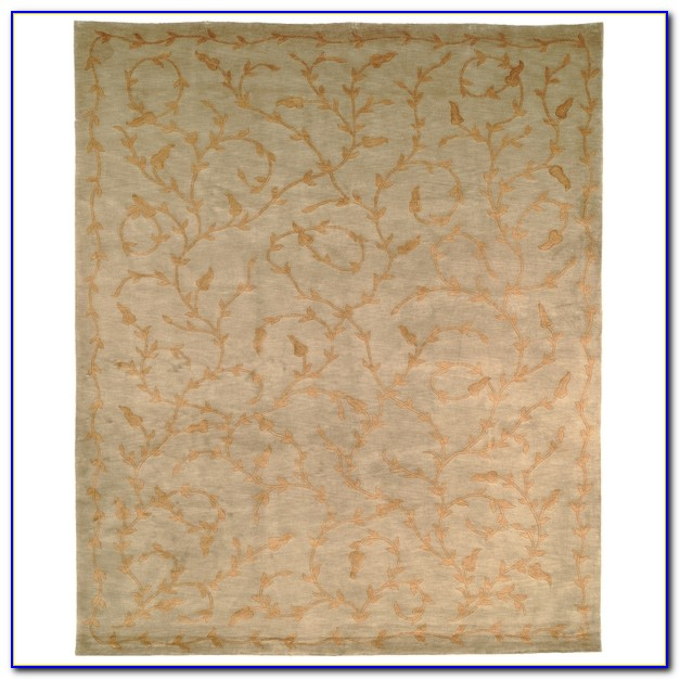 Hand Knotted Wool Rugs Made In India