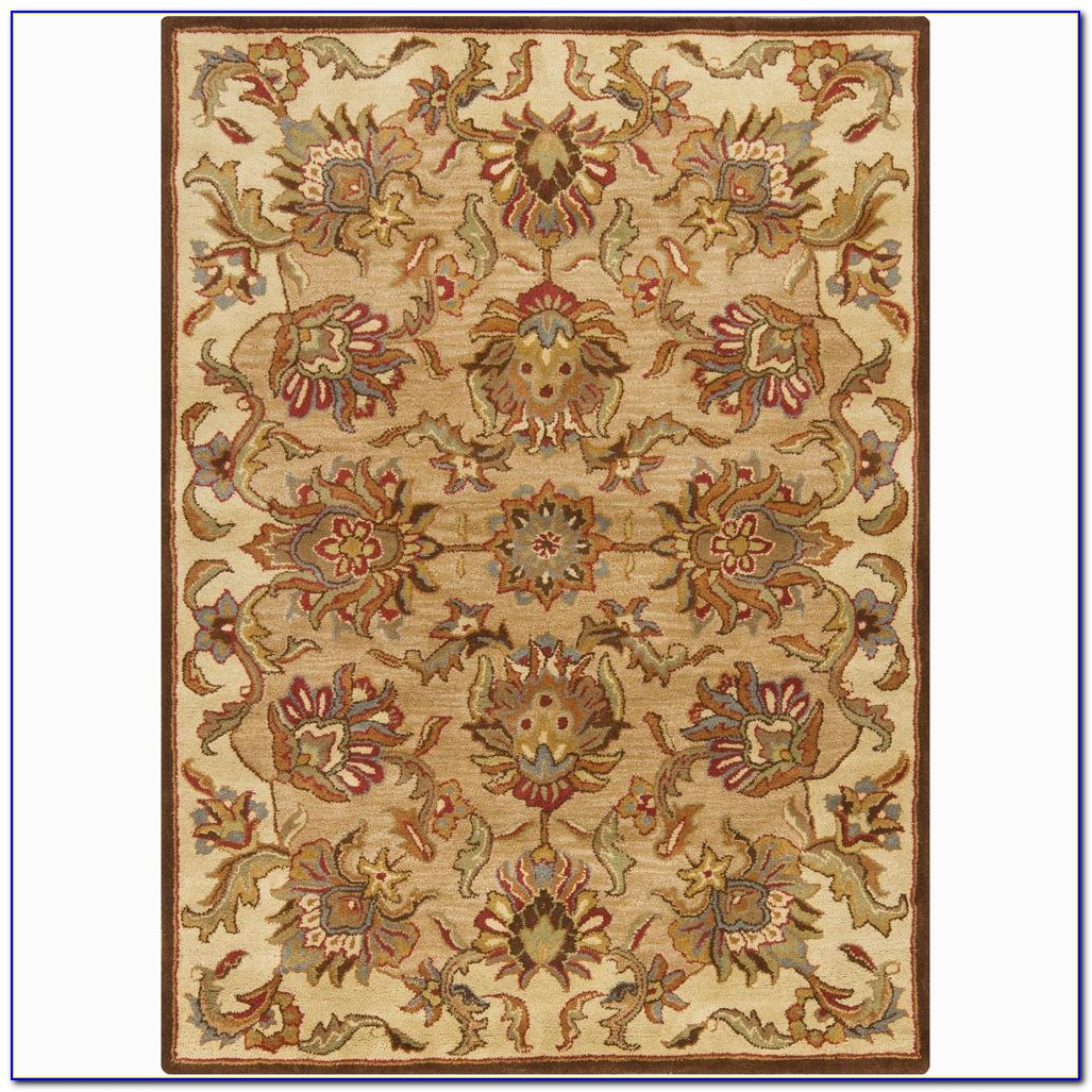 Hand Knotted Wool Rugs Made In Pakistan