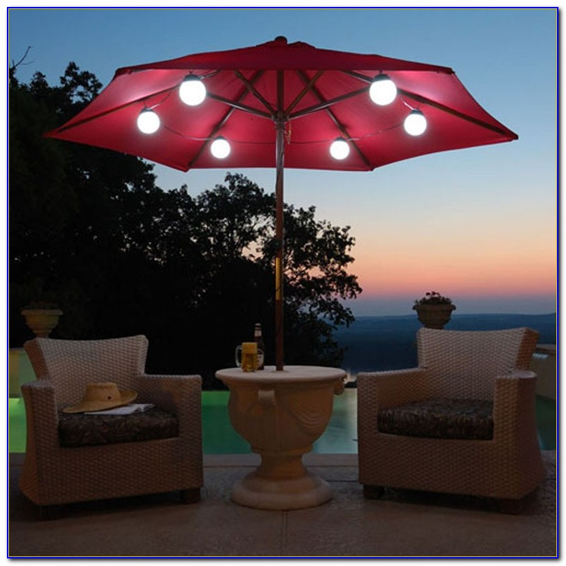 Hanging Lights For Patio Umbrella