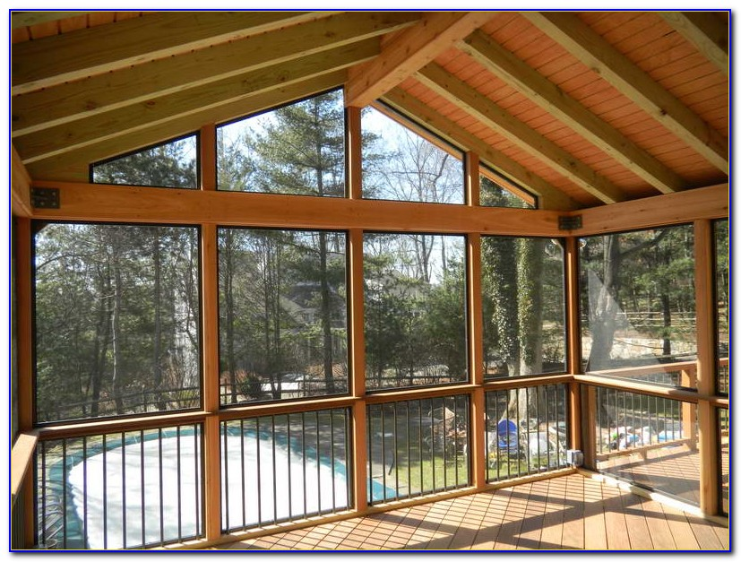 How To Build A Screened Patio Room