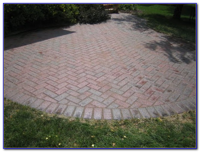 How To Clean Cement Off Patio Pavers