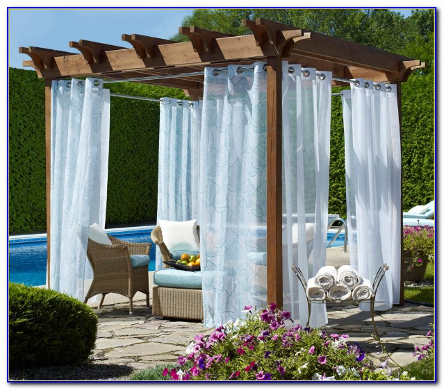 How To Make Outdoor Patio Drapes