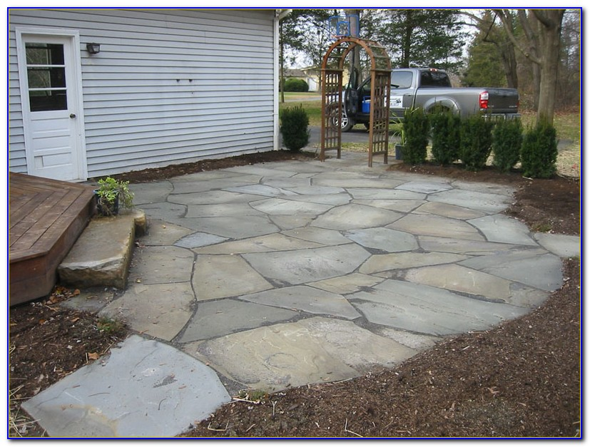 Installing A Flagstone Patio In Sand