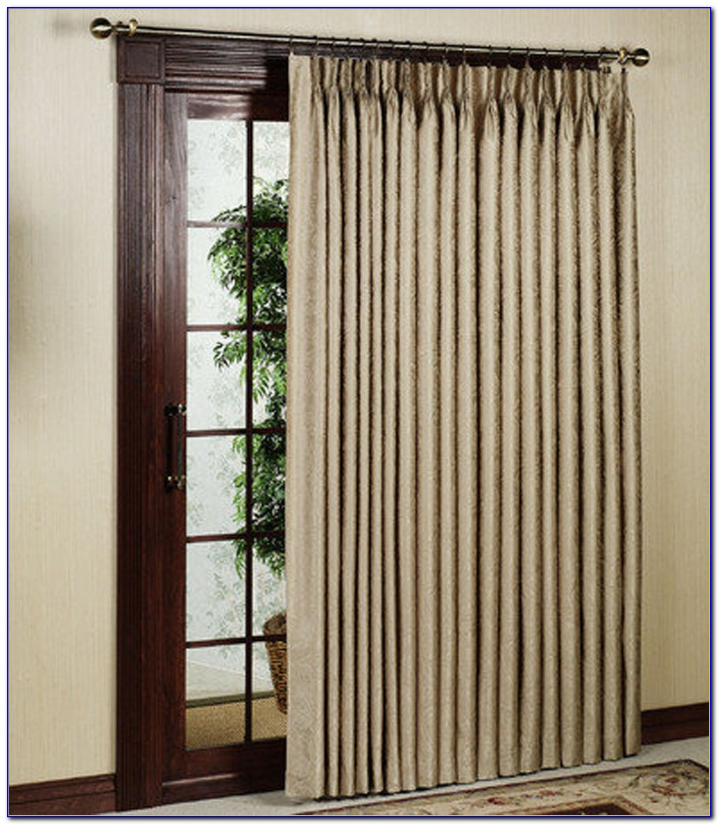 Insulated Patio Panel Curtains