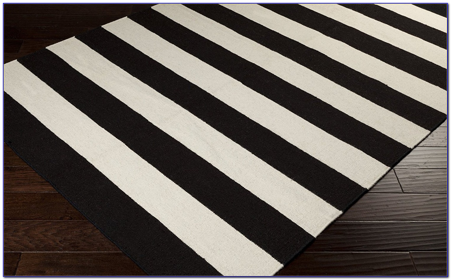 Large Black And White Checkered Rug