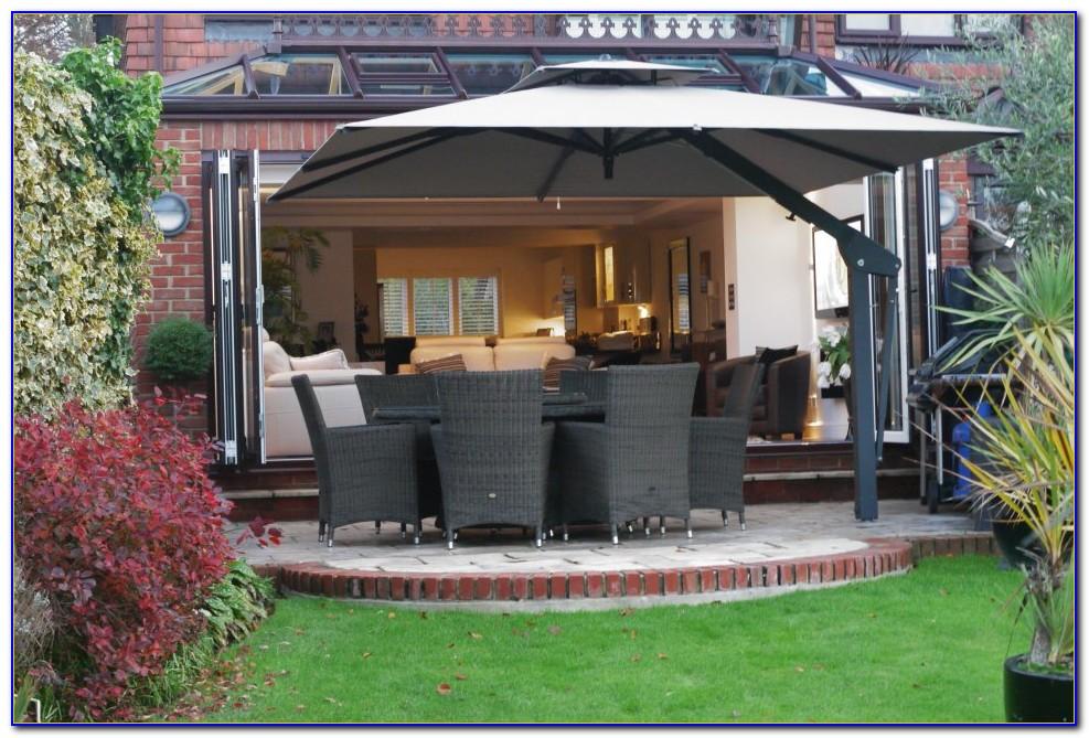 Large Cantilever Patio Umbrellas Uk