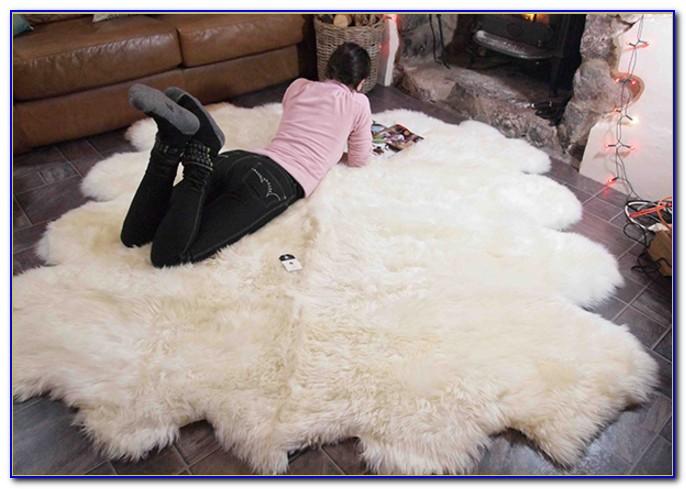 Large Sheepskin Rug Uk