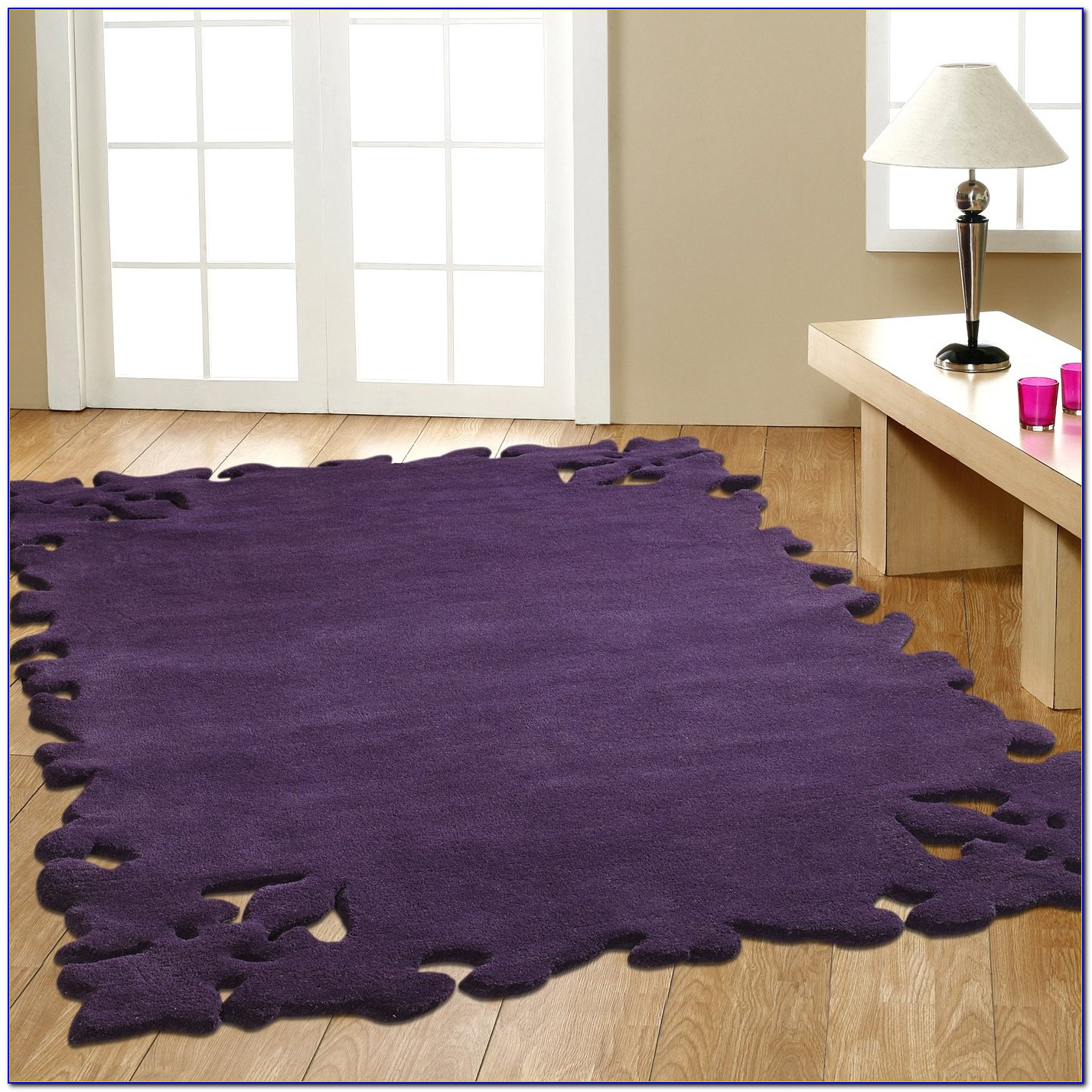 Lavender Braided Area Rugs