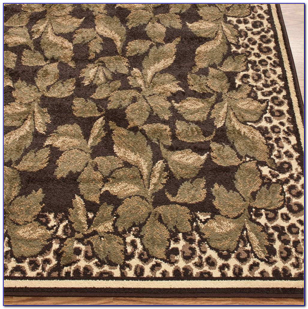 Leopard Print Rugs Amazon
