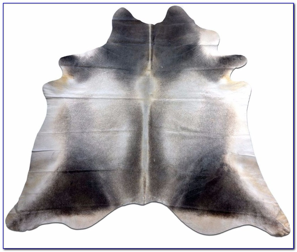 Light Grey Cowhide Rug