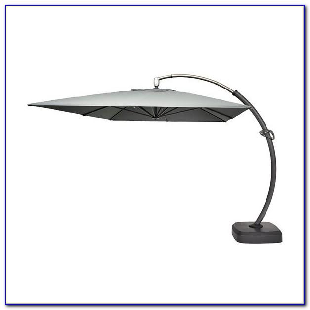 Light Grey Patio Umbrella
