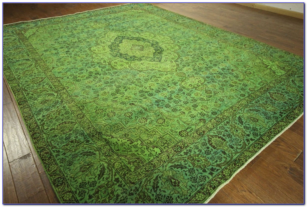 Lime Green Area Rug 4x6
