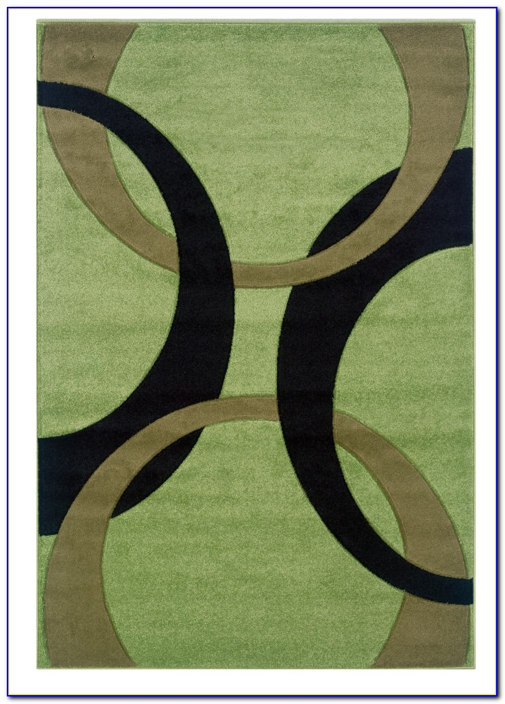 Lime Green Area Rug 5x8