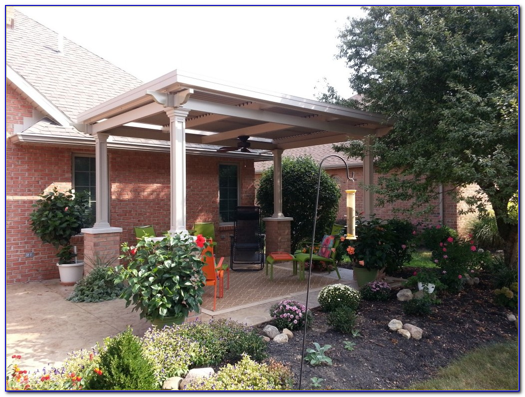 Louvered Patio Cover Kits