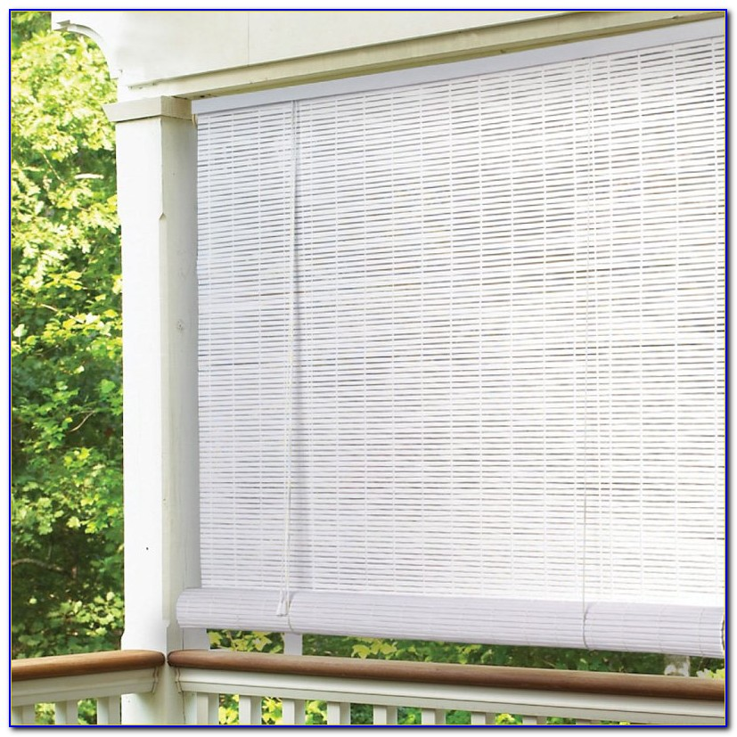Malibu Patio Roll Up Blinds