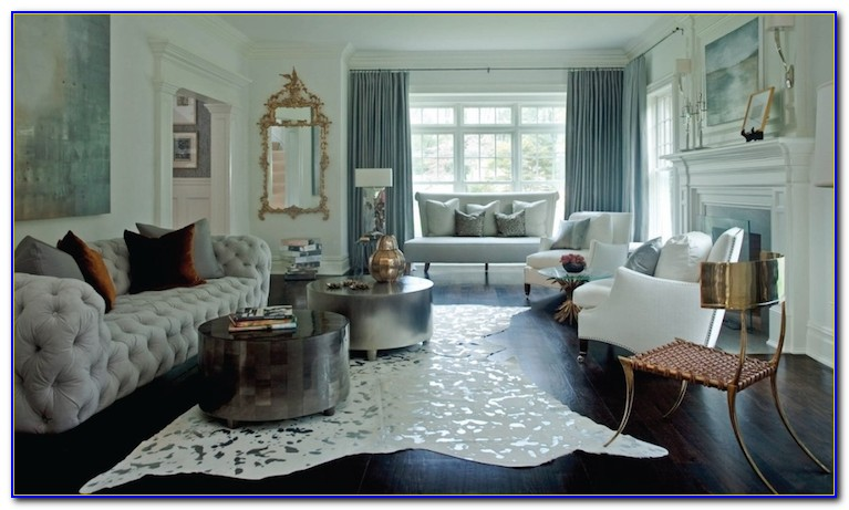 Metallic Cowhide Rugs Usa