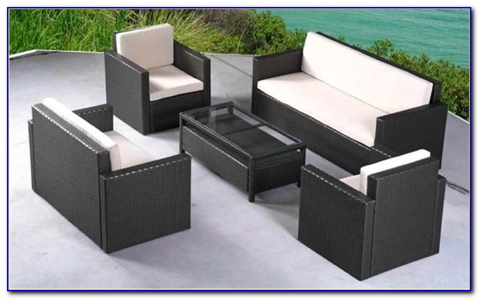 Modern Rattan Outdoor Furniture