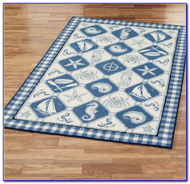 Nautical Area Rugs 9x12