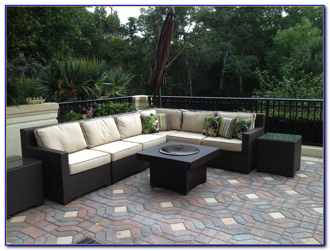Outdoor Patio Furniture With Gas Fire Pit