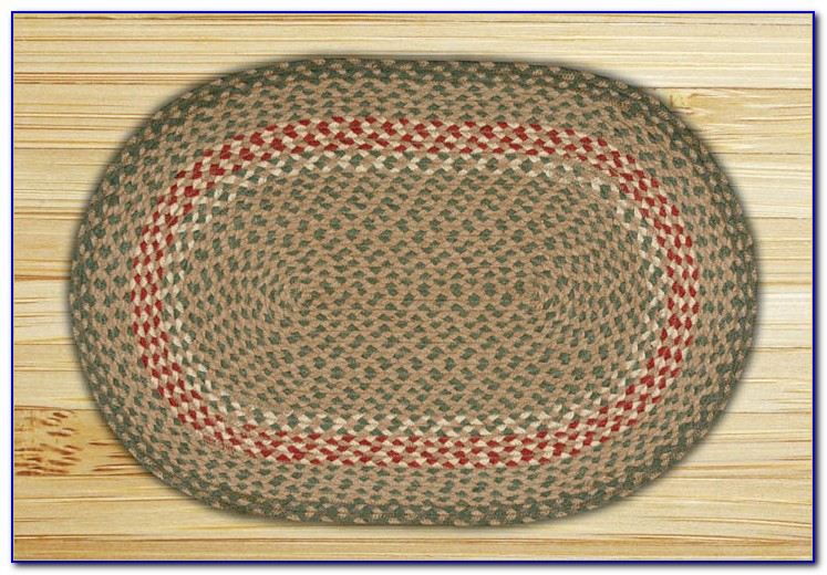 Oval Braided Rugs 5x8