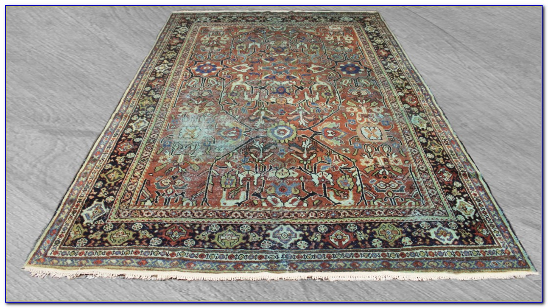 Overdyed Persian Carpets