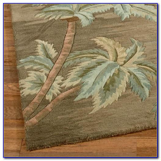 Palm Tree Rug Set