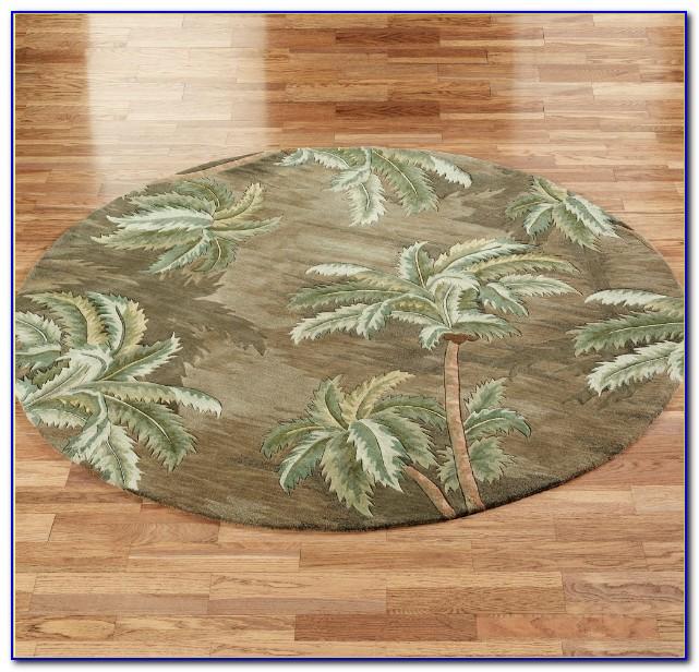 Palm Tree Rugs Kitchen
